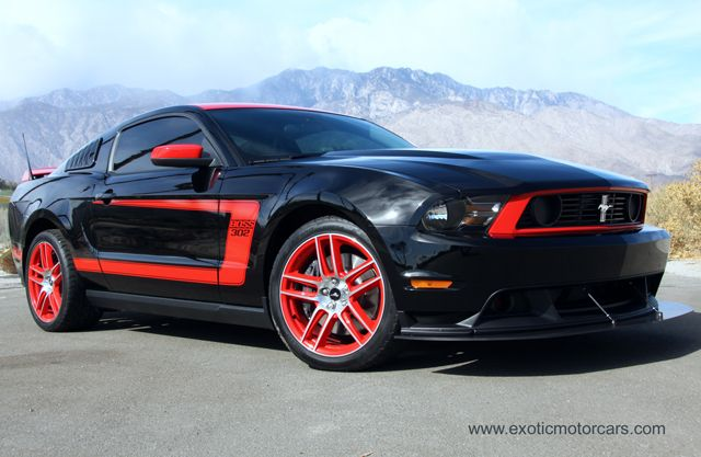 2012 Ford Mustang Boss 302 Laguna Seca Edition Exotic