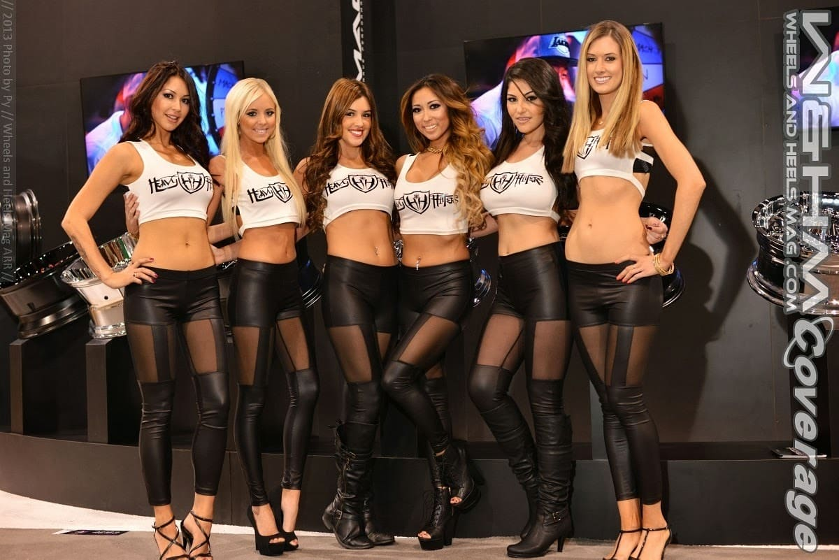 Girls of 2013 SEMA by Wheels and Heels Mag W&HM