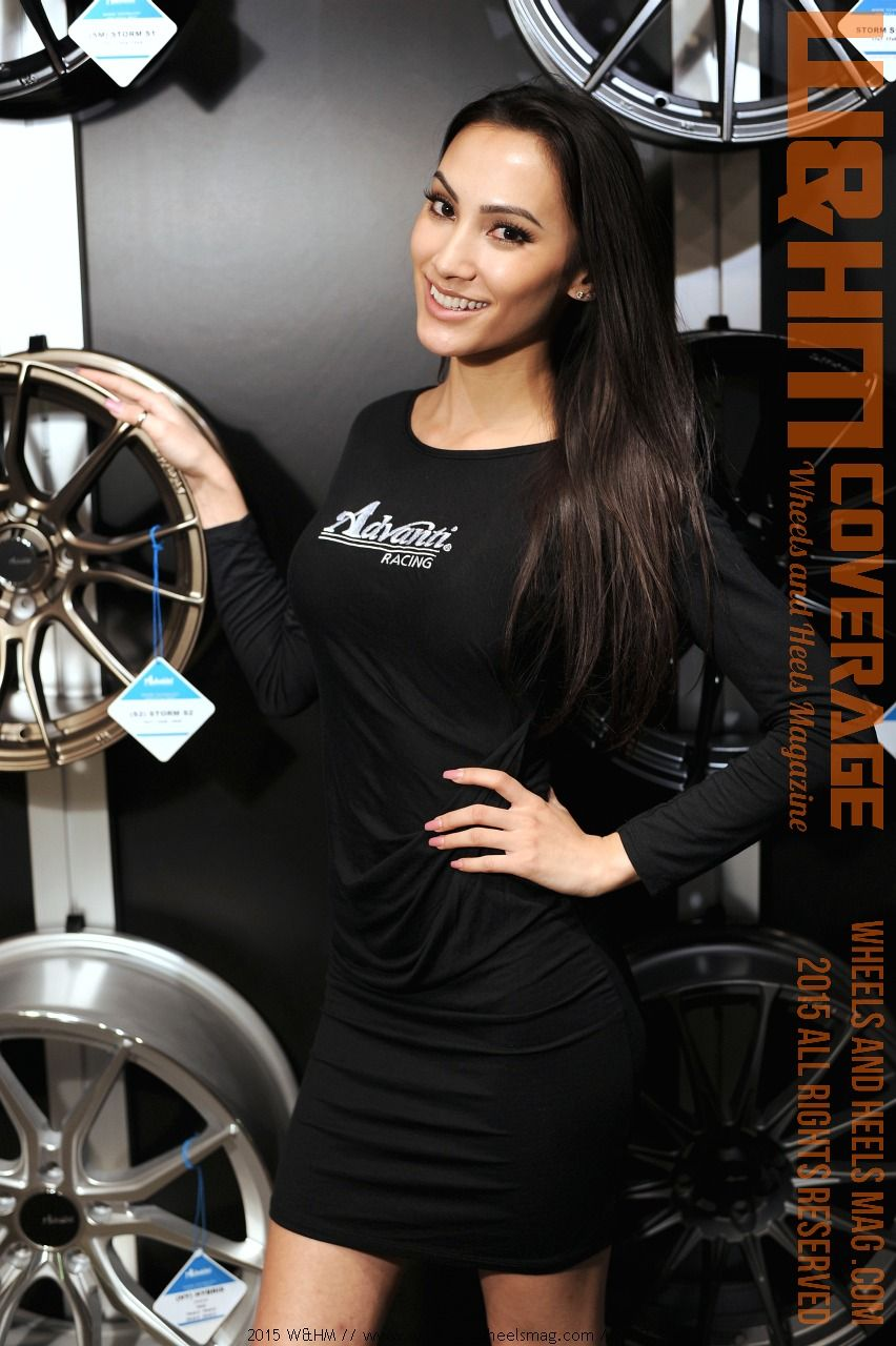 SEMA model at 2015 SEMA by W&HM