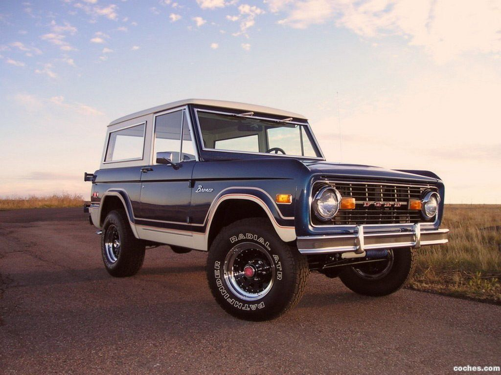 Classic Ford Bronco All Collector Cars 1970 Full Size