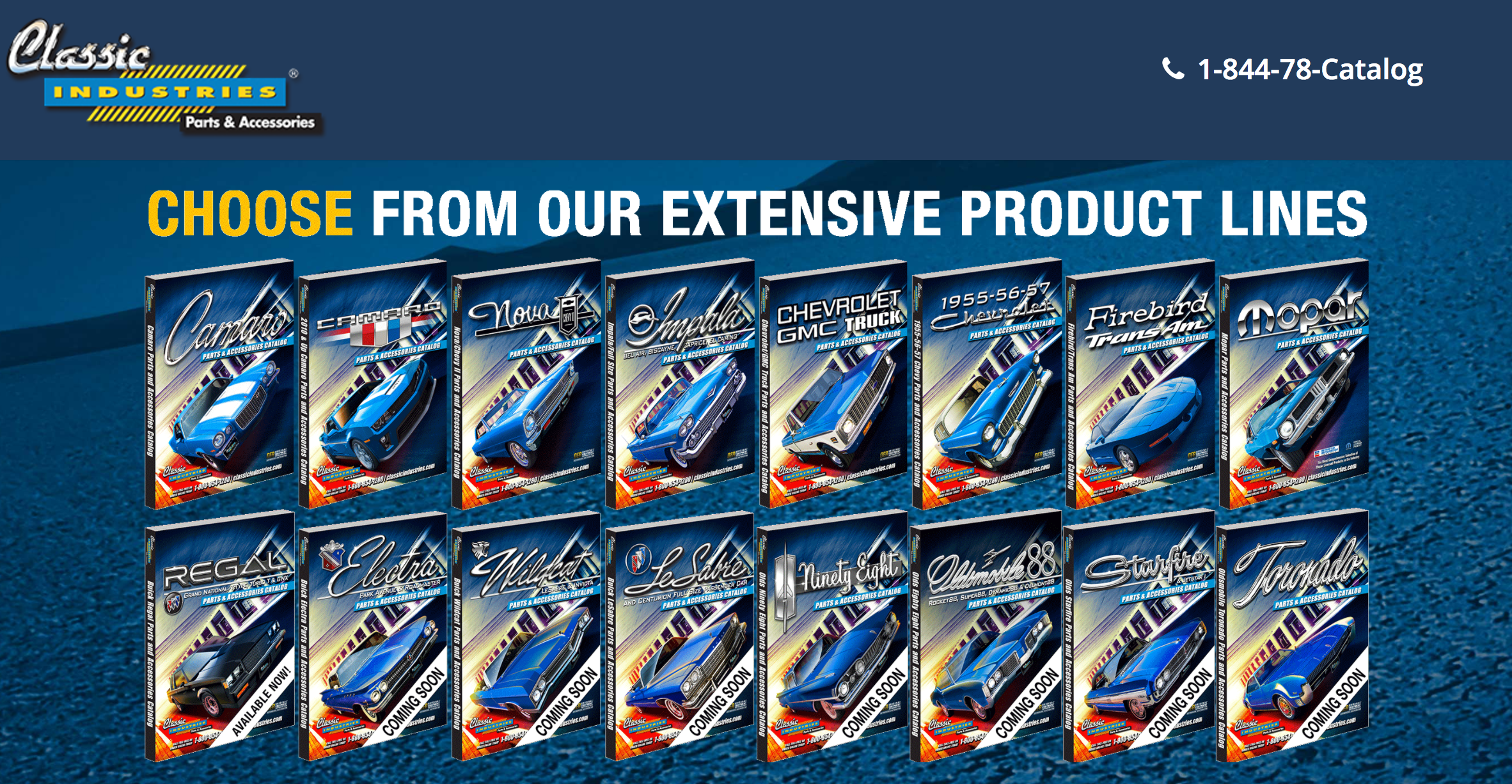 Catalogs from Classic Industries | AllCollectorCars com