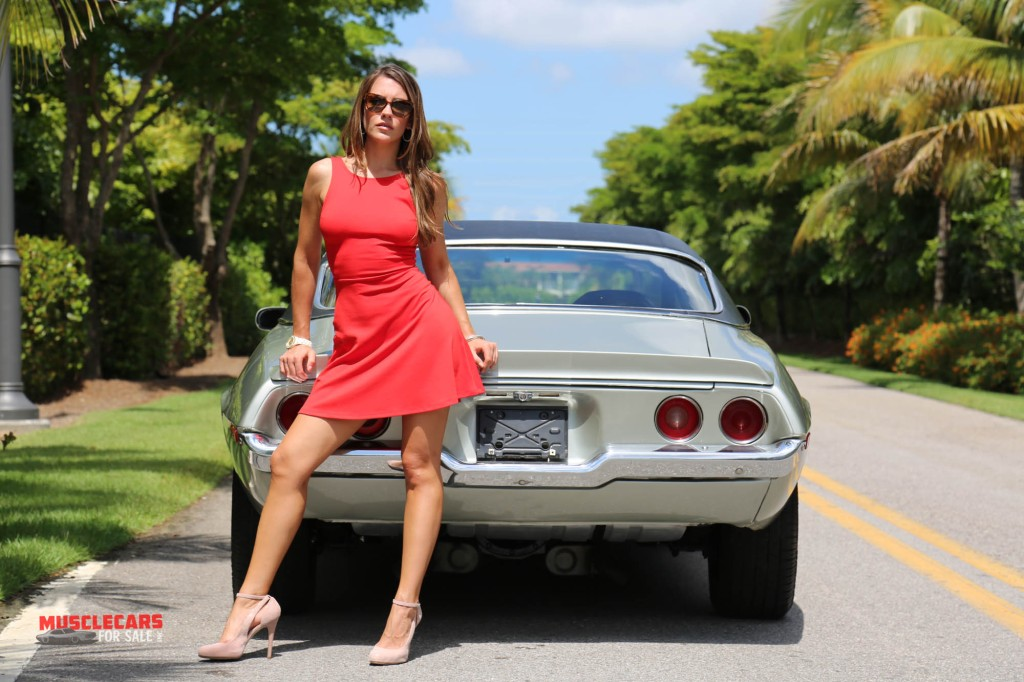 muscle car girl allcollectorcarscom