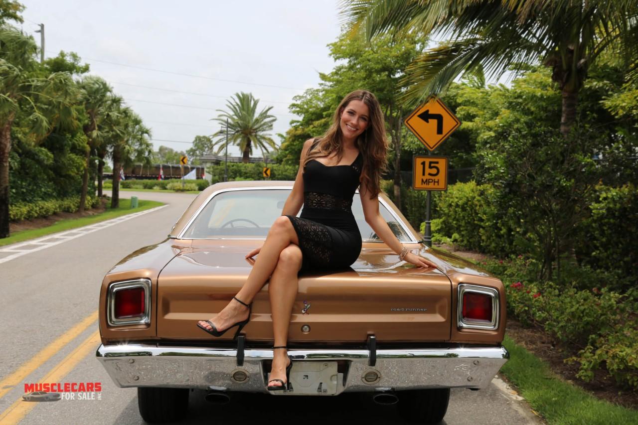 muscle car girl | allcollectorcars