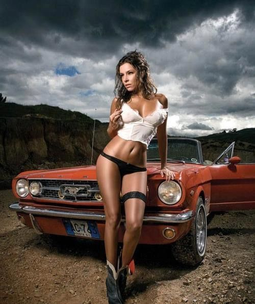 Muscle Car Girl All Collector Cars