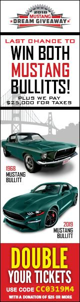 Dream Giveaway Mustang Raffle